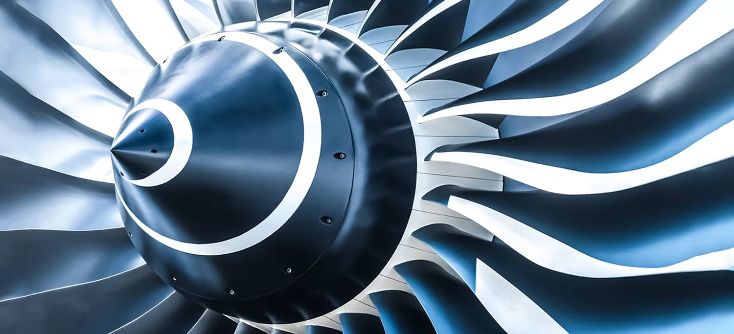 Image of an Airplane Engine